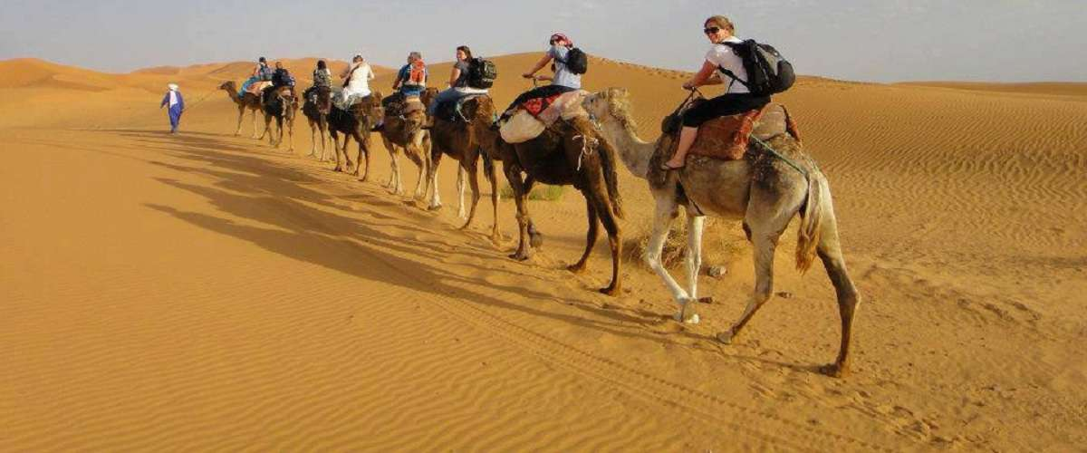 circuit au desert