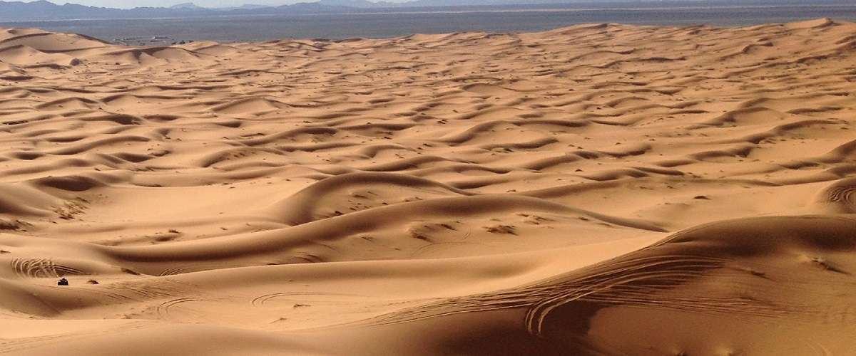 trek au désert du maroc